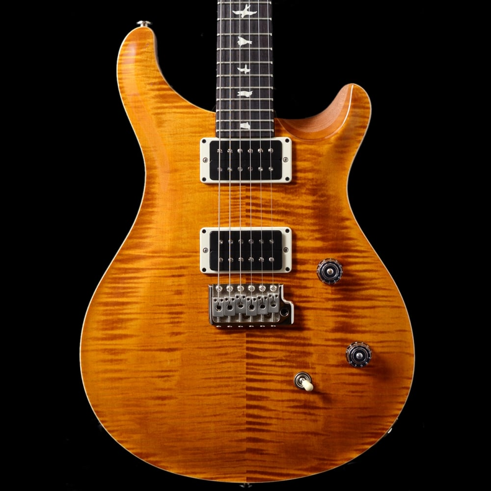 prs ce 24 in amber classic electric maple neck sound affects premier. Black Bedroom Furniture Sets. Home Design Ideas