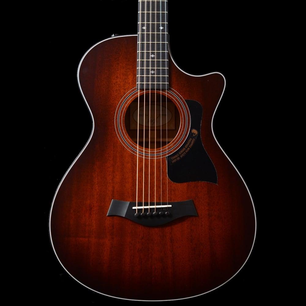2016 taylor 322ce 12 fret electro acoustic es2 guitar sunburst. Black Bedroom Furniture Sets. Home Design Ideas