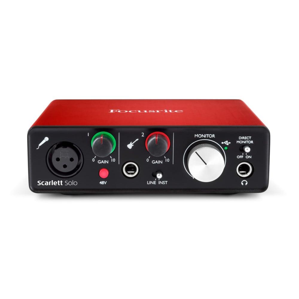 scarlett solo audio interface software bundle buy focusrite. Black Bedroom Furniture Sets. Home Design Ideas