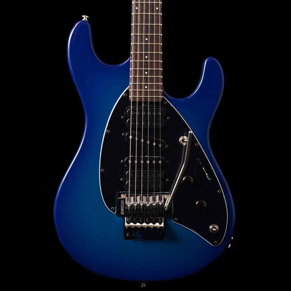 music man steve morse signature electric guitar blue burst. Black Bedroom Furniture Sets. Home Design Ideas