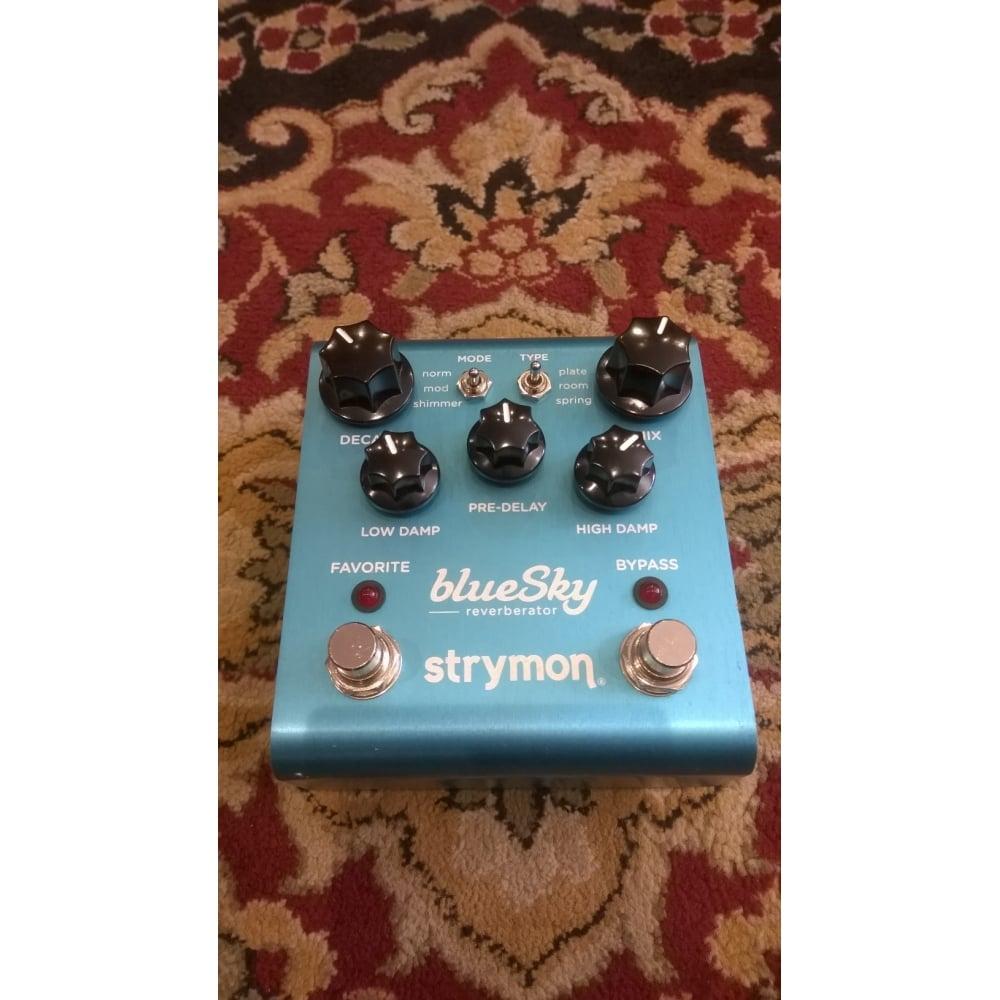 strymon blue sky reverberator reverb pedal pre owned. Black Bedroom Furniture Sets. Home Design Ideas