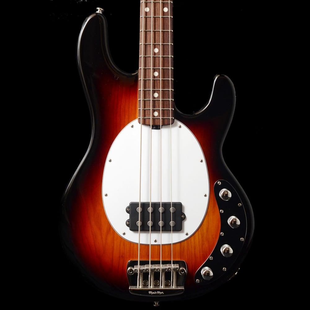 music man stingray 4 3 eq electric bass guitar tobacco sunburst rw sound affects premier. Black Bedroom Furniture Sets. Home Design Ideas