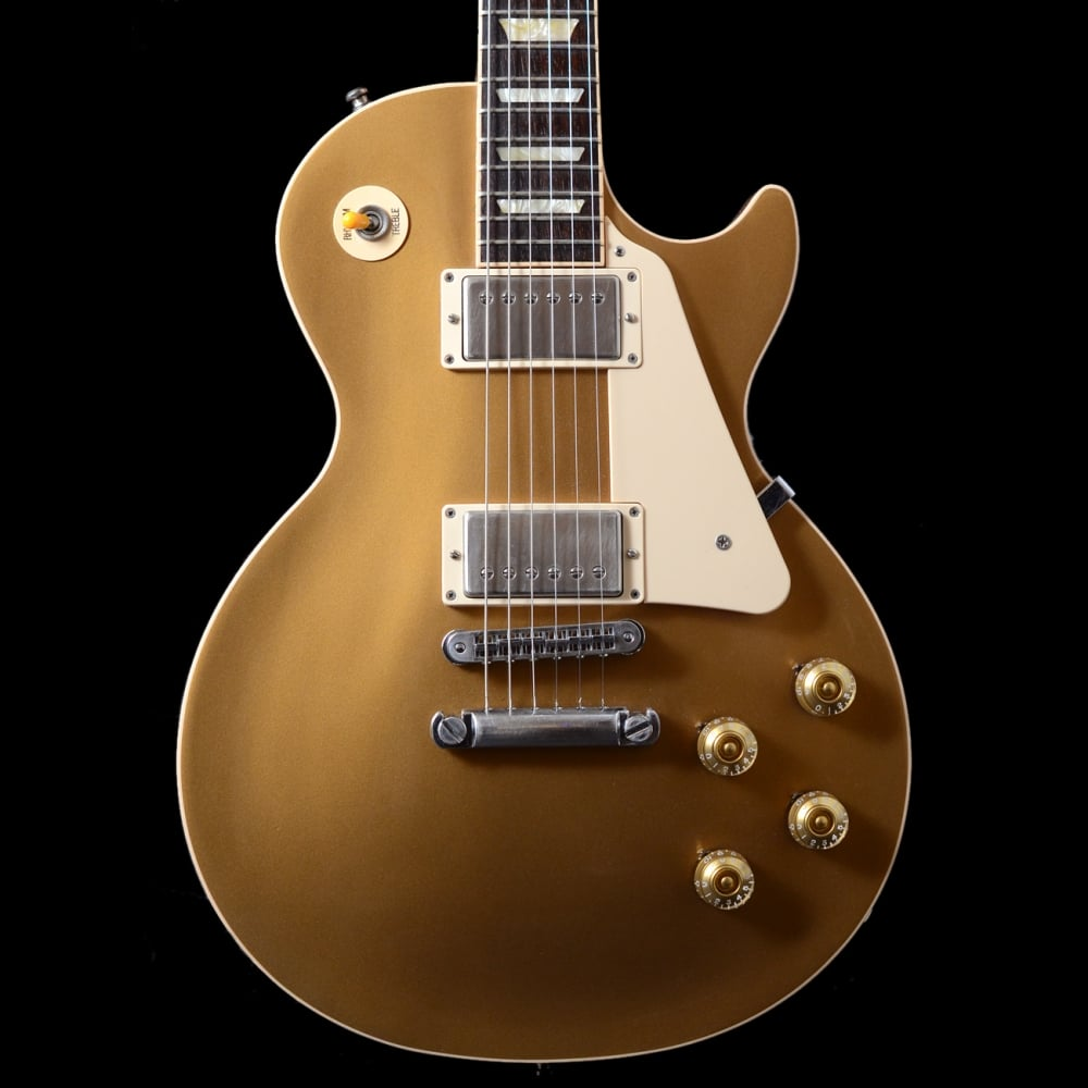 buy gibson les paul standard gold top electric guitar 2012 pre owned. Black Bedroom Furniture Sets. Home Design Ideas