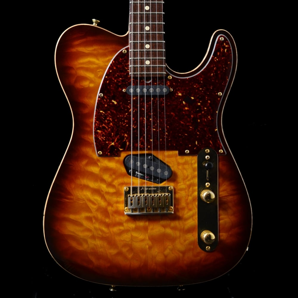 2001 tom anderson hollow t classic electric guitar in desert sunset pre owned. Black Bedroom Furniture Sets. Home Design Ideas