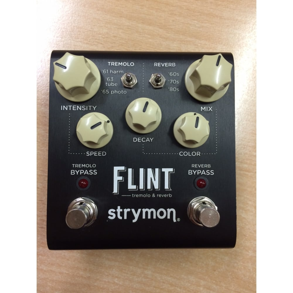 buy strymon flint tremolo reverb pedal pre owned. Black Bedroom Furniture Sets. Home Design Ideas