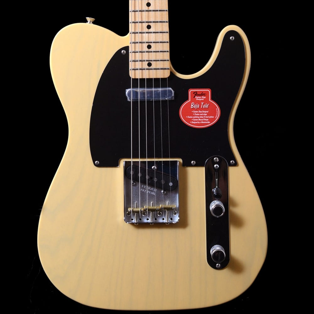 fender classic player baja telecaster electric guitar in blonde. Black Bedroom Furniture Sets. Home Design Ideas