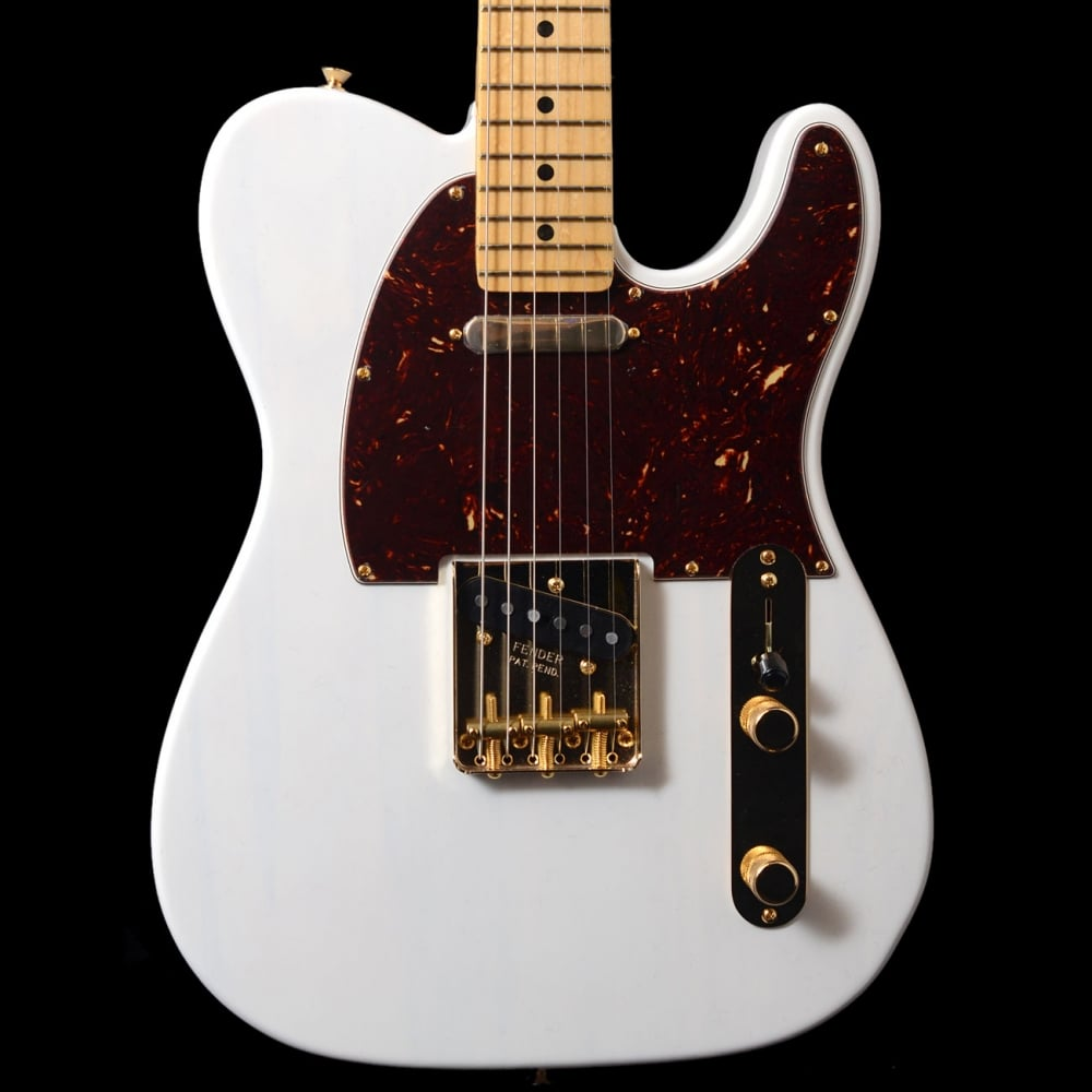 buy fender magnificent 7 ltd edition select lite ash telecaster guitar in white. Black Bedroom Furniture Sets. Home Design Ideas