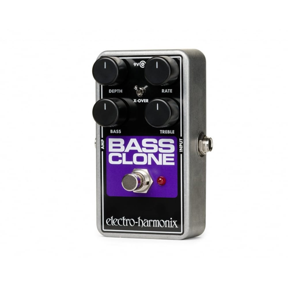 electro harmonix bass clone chorus pedal for bass guitar sound affects premier. Black Bedroom Furniture Sets. Home Design Ideas