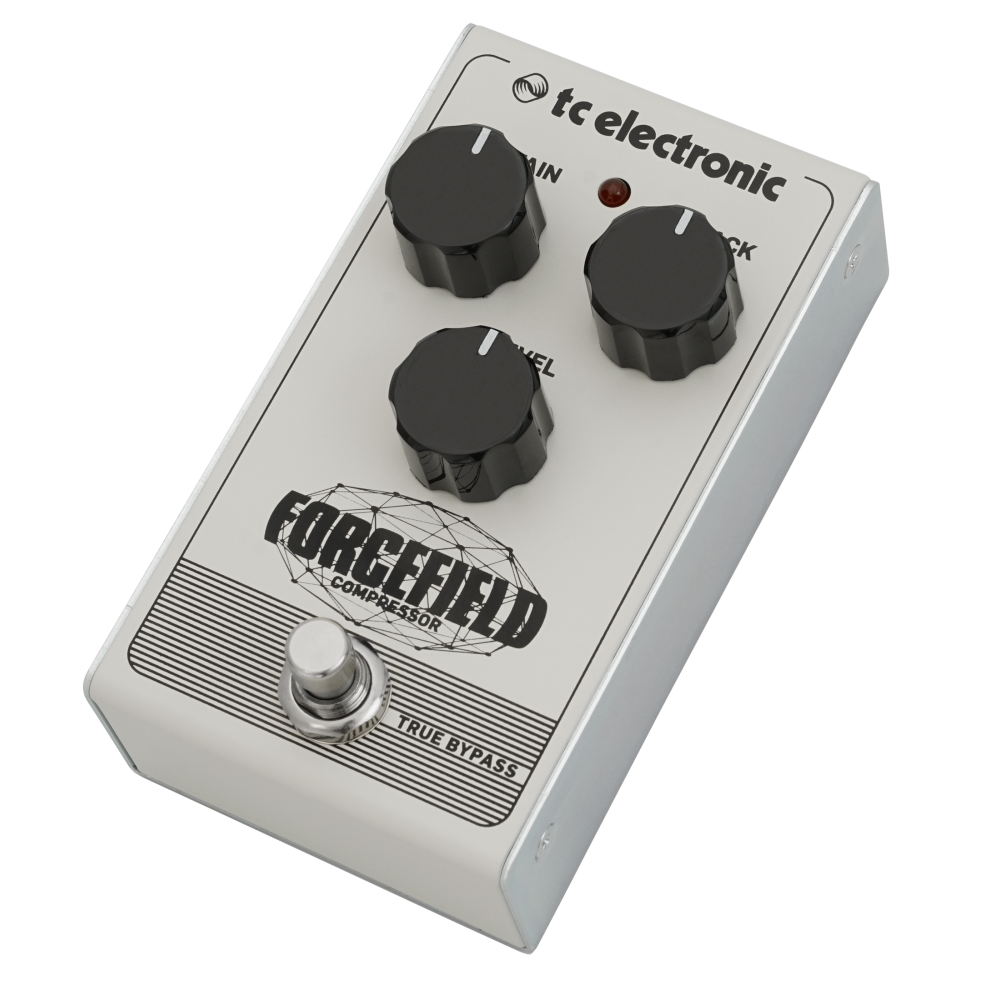 forcefield compressor effects pedal for guitar tc electronic. Black Bedroom Furniture Sets. Home Design Ideas