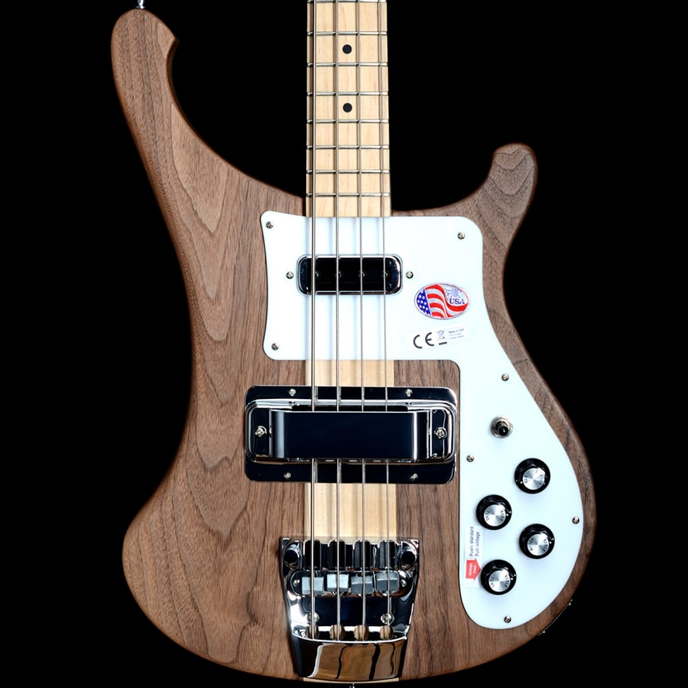 rickenbacker 4003s electric bass guitar in walnut. Black Bedroom Furniture Sets. Home Design Ideas