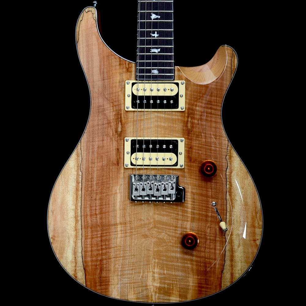 prs se exotic limited custom 24 electric guitar spalted maple. Black Bedroom Furniture Sets. Home Design Ideas