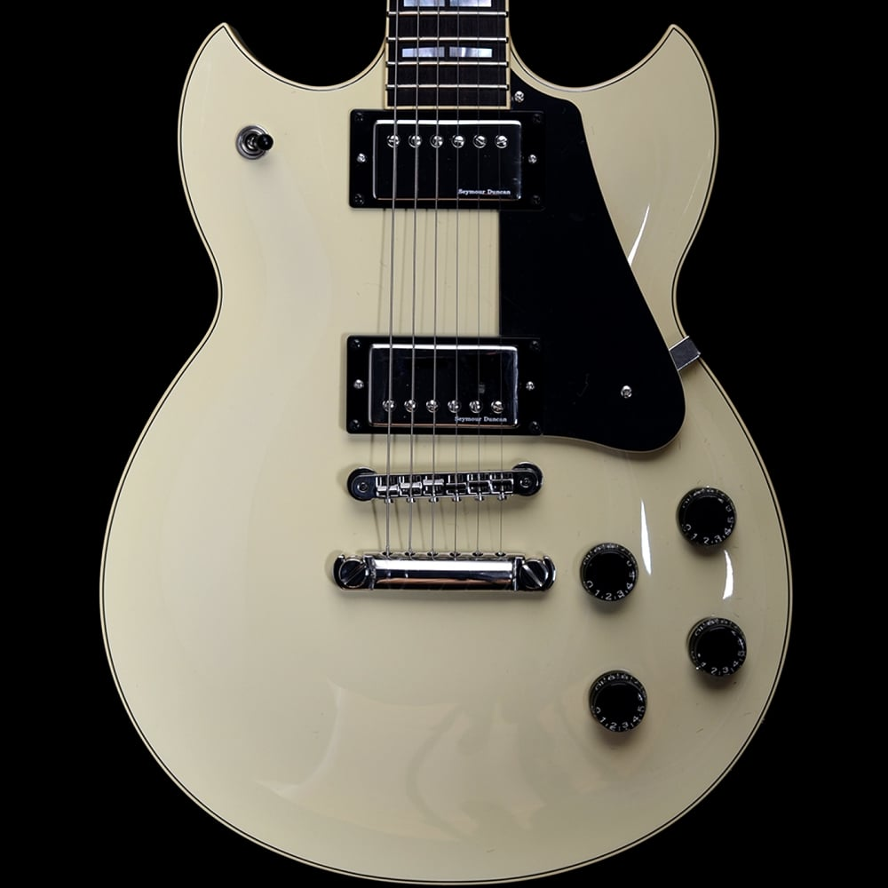 Buy pre owned yamaha sg1820 vintage white electric guitar for Where are yamaha guitars made