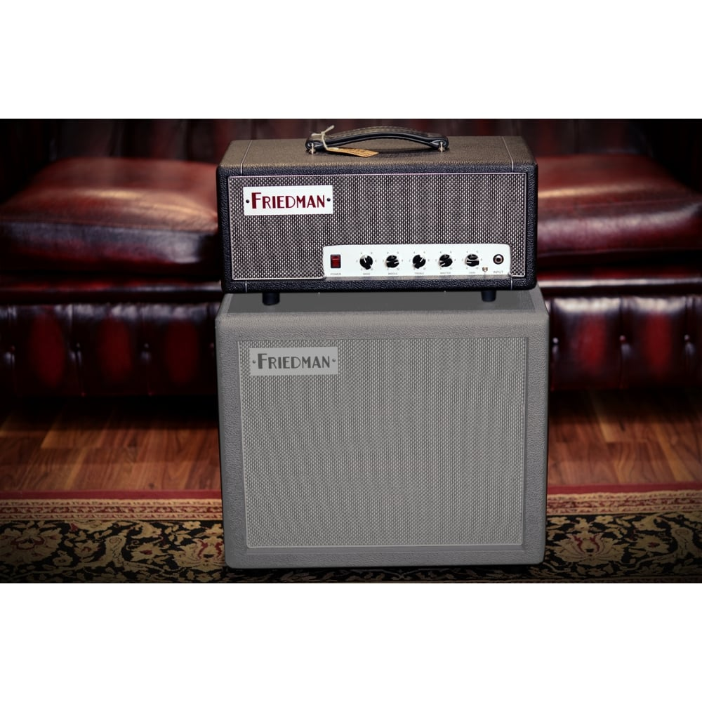 Friedman Mini Dirty Shirley 20w Amplifier Head Power Tube With El34 Amplification