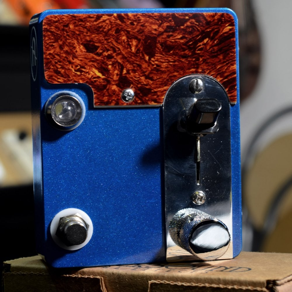Coppersound Broadway Treble Booster Germanium Preamp Lake Placid Blue Circuit